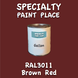 RAL 3011 brown red gallon