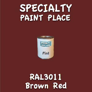 RAL 3011 brown red pint