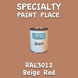 RAL 3012 Beige Red Quart Can