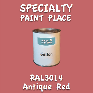 RAL 3014 antique red gallon