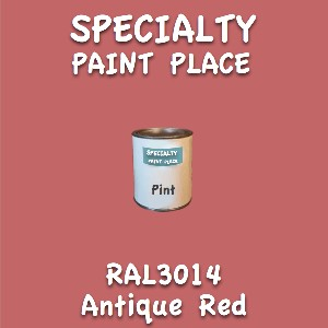 RAL 3014 Antique Red Pint Can
