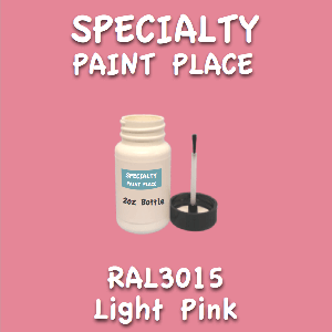 RAL 3015 Light Pink 2oz Bottle with Brush