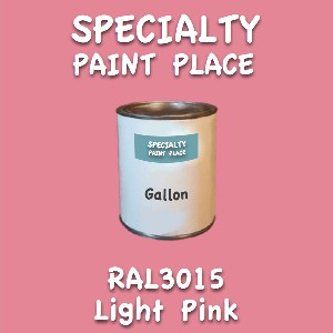 RAL 3015 Light Pink Gallon Can