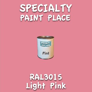 RAL 3015 Light Pink Pint Can
