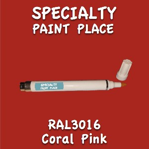 RAL 3016 coral pink pen