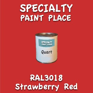 RAL 3018 strawberry red quart