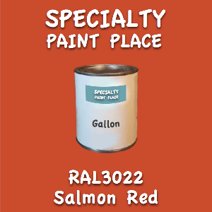 RAL 3022 Salmon Red Gallon Can