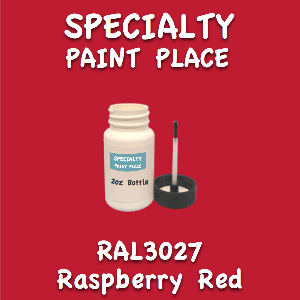 RAL 3027 Raspberry Red 2oz Bottle with Brush