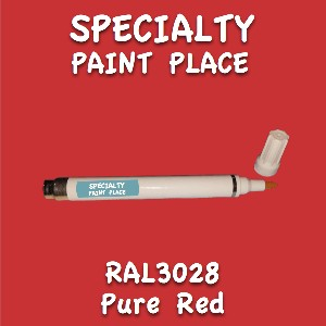 RAL 3028 pure red pen
