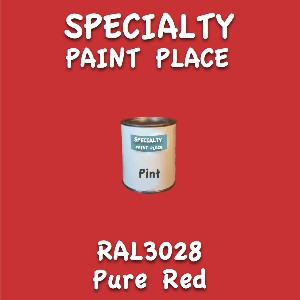 RAL 3028 pure red pint