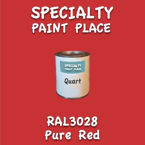 RAL 3028 pure red quart