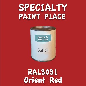 RAL 3031 orient red gallon