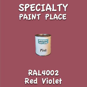 RAL 4002 Red Violet Pint Can