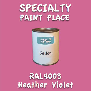 RAL 4003 heather violet gallon