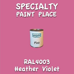 RAL 4003 heather violet pint