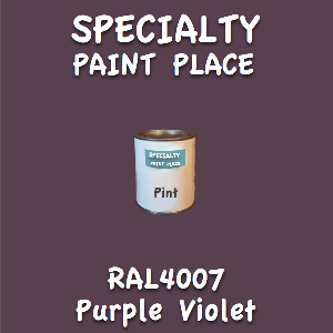 RAL 4007 purple violet pint