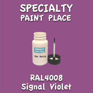 RAL 4008 signal violet 2oz bottle with brush