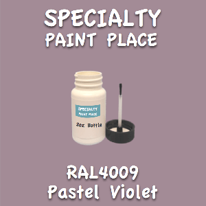 RAL 4009 pastel violet 2oz bottle with brush