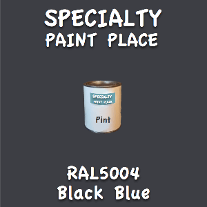 RAL 5004 black blue pint