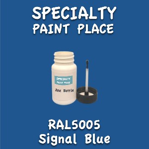RAL 5005 signal blue 2oz bottle with brush