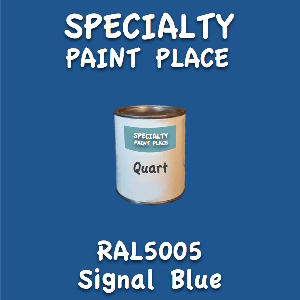 RAL 5005 signal blue quart