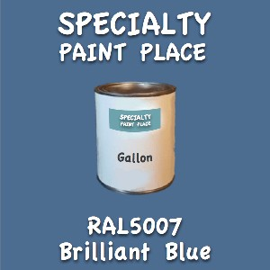 RAL 5007 brilliant blue gallon