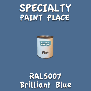 RAL 5007 brilliant blue pint