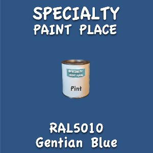 RAL 5010 gentian blue pint
