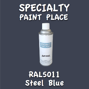 RAL 5011 steel blue 16oz aerosol can