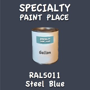 RAL 5011 steel blue gallon