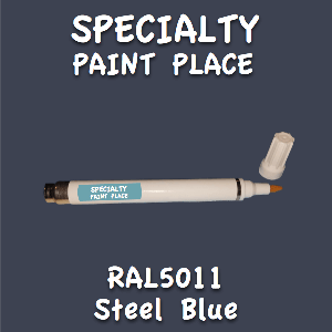 RAL 5011 steel blue pen