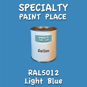 RAL 5012 light blue gallon