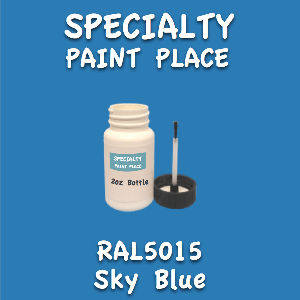RAL 5015 sky blue 2oz bottle with brush