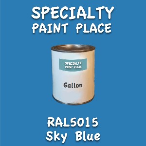 RAL 5015 sky blue gallon