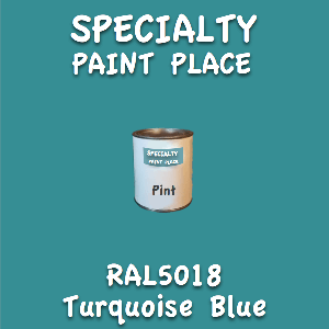 RAL 5018 turquoise blue pint
