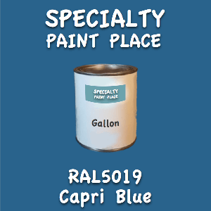 RAL 5019 capri blue gallon