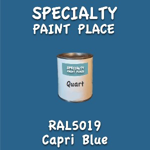 RAL 5019 capri blue quart