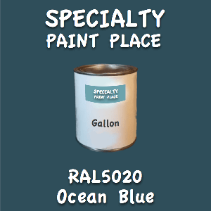 RAL 5020 ocean blue gallon