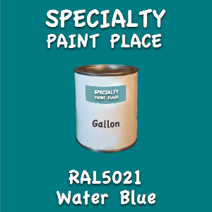 RAL 5021 water blue gallon