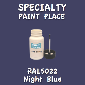 RAL 5022 night blue 2oz bottle with brush