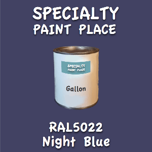RAL 5022 night blue gallon