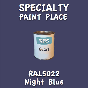 RAL 5022 night blue quart