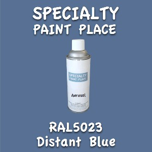 RAL 5023 distant blue 16oz aerosol can