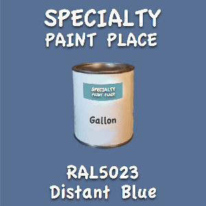 RAL 5023 distant blue gallon