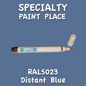 RAL 5023 distant blue pen