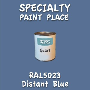 RAL 5023 distant blue quart