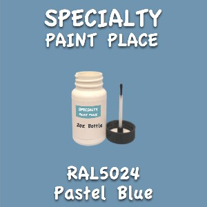 RAL 5024 pastel blue 2oz bottle with brush