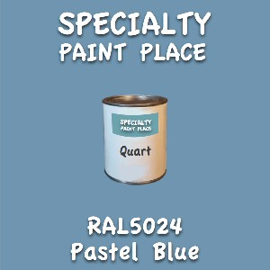 RAL 5024 pastel blue quart