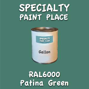 RAL 6000 patina green gallon