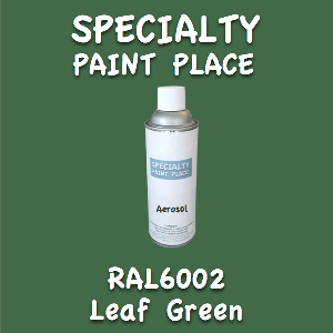 RAL 6002 leaf green 16oz aerosol can
